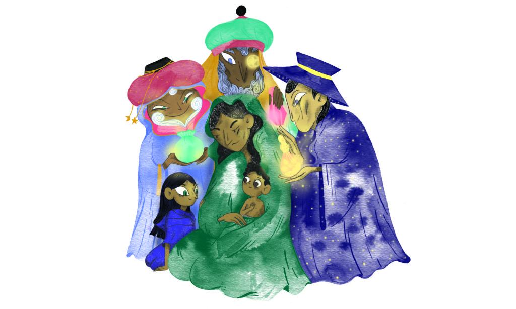 Bibelfortællinger for børn: Hannah, Herodes og himmelkongen - Jesusbarnet