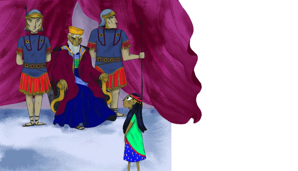Bibelfortællinger for børn: Hannah, Herodes og himmelkongen - Hannah hos kong Herodes