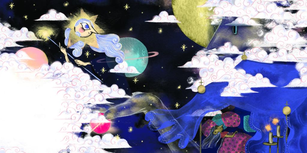 Bibelfortællinger for børn: Hannah, Herodes og himmelkongen - Gud taler med stjerne
