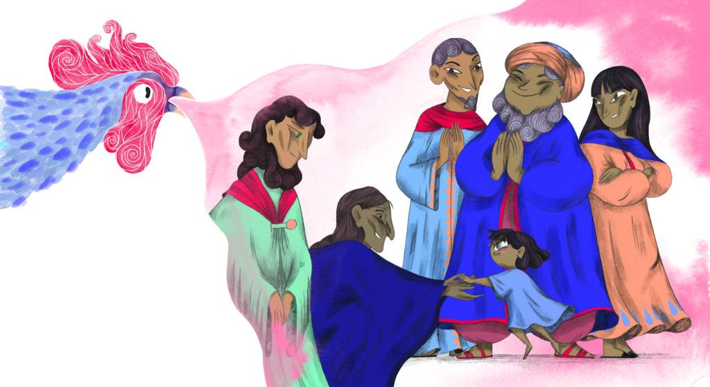 Bibelfortællinger for børn: Petra og feberen der forsvandt - Jesus har gjort mormor rask