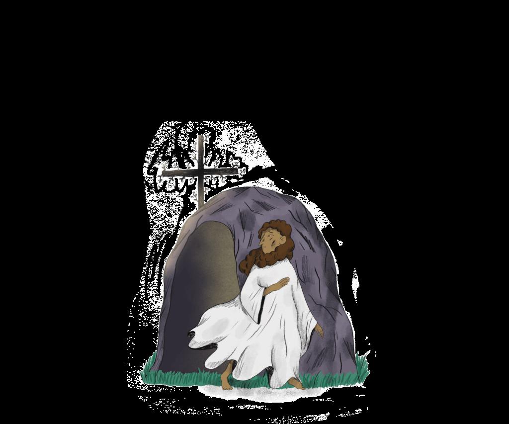 Børn i kirken: Jesus ved hule fritlagt